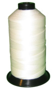 Item4ever® White 100g UV resistant High Tenacity Polyester Sewing Thread Size Medium 210d/3 for Outdoor, Upholstered