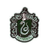 Harry Potter House of Slytherin Hogwarts Crest Patch 12cm