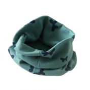 Yoyorule Autumn Winter Boys Girls Collar Baby Scarf Cotton O Ring Neck Scarves