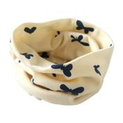 Yoyorule Autumn Winter Boys Girls Collar Baby Scarf Cotton O Ring Neck Scarves