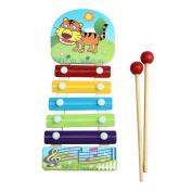 Binmer(TM)Baby Kid Musical Toys Xylophone Wisdom Development Wooden Instrument
