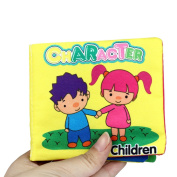 Doinshop Soft Cloth Cognize Book Baby Intelligence Development Education Toys Learning Picture