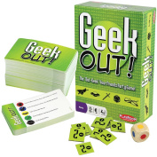 Geek Out Board Game - Geeky Pop Culture Trivia Topics For Ages 10+