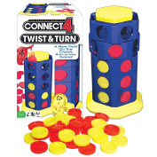 Connect 4 Twist And Turn Board Game New Twist On The Classic 4-In-A-Row