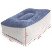 AUDEW Inflatable Foot Rest Pillow CushionTravel Home Relax Reduce DVT Risk on Flights