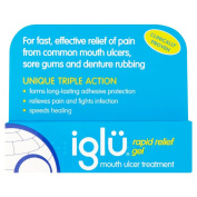 Iglu Rapid Relief Gel Mouth Ulcer Treatment