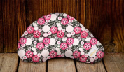 Littlebeam LBNP27 Red Flowers Nursing Pillow Exclusive Collection