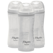 Playtex 3 Pack Baby Drop Ins Nurser, 240ml, White