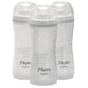 Playtex 3 Pack Baby Drop Ins Nurser, 240ml, White