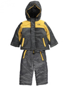 "CB Baby Boys' ""Flash Trim"" 2-Piece Snowsuit"