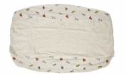 Janey Baby 100% Organic Cotton Change Table Pad 41cm x 80cm
