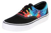 Vans Kids Unisex Era Black/Rainbow Tie Dye Sneakers Size 10.5