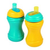 Re-Play 2 Piece Soft Spout Cup, Aqua/Sunny Yellow