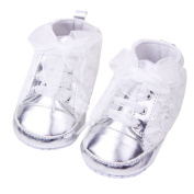 Binmer(TM) Children Shoes Baby Shoes Girls Toddler Soft Sole with Rose Flowers Infant Lace Shoes
