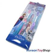 Disney Frozen Toothbrush Kids 2 pcs Pink & Purple Colours Brush of DU PONT Case