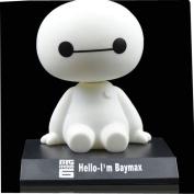 DANUC 2015 New Pop Big Hero 6 Baymax Cute Cartoon Bobblehead Doll Toy Car Accessories/Dashboard Bobblehead for Car/ Interior Decoration, Bobble Head Toy, Kid's Gift