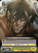"Weiss Schwarz - ""Sudden Reinforcement"" Eren Titan - AOT/S35-TE08 - TD (AOT/S35-TE08) - Attack on Titan Trial Deck"