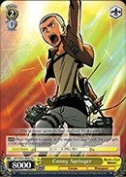 Weiss Schwarz - Conny Springer - AOT/S35-TE09 - TD (AOT/S35-TE09) - Attack on Titan Trial Deck