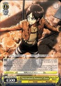 "Weiss Schwarz - ""Activated Powers"" Eren - AOT/S35-TE05 - TD (AOT/S35-TE05) - Attack on Titan Trial Deck"