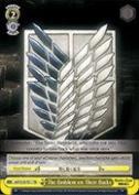 Weiss Schwarz - The Emblem on Their Backs - AOT/S35-TE11 - TD (AOT/S35-TE11) - Attack on Titan Trial Deck