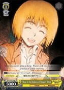 "Weiss Schwarz - ""Hope in the Darkness of Despair"" Armin - AOT/S35-TE06 - TD (AOT/S35-TE06) - Attack on Titan Trial Deck"