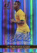 Donruss Soccer 2015 Beautiful Game Autograph Robinho