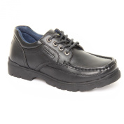 Boy Teens us Brass Stubby 2 Black Lace up Shoes