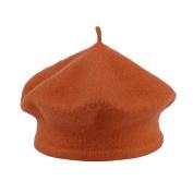 La Vogue Kids Baby Toddler Girls Solid Colour Classic Beret Hat Cap