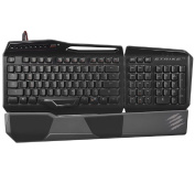 Mad Catz S.T.R.I.K.E.TE Tournament Edition Mechanical Gaming Keyboard for PC -Gloss Black
