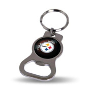 Pittsburgh Steelers Official NFL 7.6cm Bottle Opener Key Chain Keychain by Rico Industries