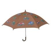 Brown Monster Truck Boys Umbrella