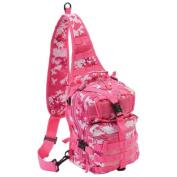 Extreme Pak LUPACKPK1 Extreme Pak Pink Digital Camo 28cm Sling Backpack