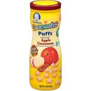 Gerber Graduates Apple Cinnamon Puffs Cereal Snacks, 45ml, 6 count