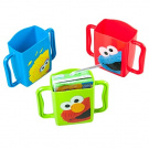 3 Evriholder Sesame Street Juice Box Holders Elmo Big Bird & Cookie Monster
