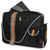 Fisher-Price Urban Messenger Nappy Bag, Navy