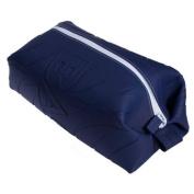 Wurkin Stiffs Mens Navy Blue Silicone Doppel Kit Grooming Toiletry Travel Bag