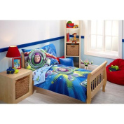 Toy Story Power Up 4-Piece Toddler Bedding Set