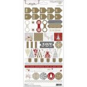 Tinsel & Company Stickers 15cm x 30cm -Decorative