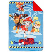 Nickelodeon Paw Patrol Toddler Blanket, Coral Plush