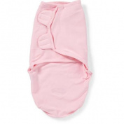 Summer Infant SwaddleMe Cotton Swaddling Blanket, Pink, Small