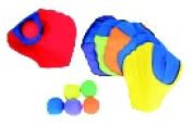 Sportime Catchsoft Gloves And Balls Set - 6