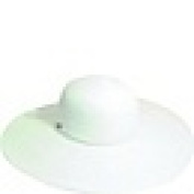 Dorfman Pacific LP44-WHT Big Brim Paper Braid Hat - White