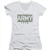 Army-Block - Junior Tee White - 2X