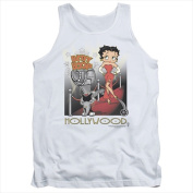 Boop-Hollywood - Adult Tank Top White - Small