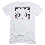 Boop-Close Up - Short Sleeve Adult 30-1 Tee White - Extra Large
