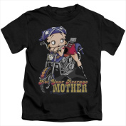 Boop-Not Your Average Mother - Short Sleeve Juvenile 18-1 Tee Black - Large 7