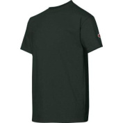 Champion Double Dry. Cotton-Blend Kids T Shirt # T435 S Dark Green
