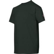 Champion Double Dry. Cotton-Blend Kids T Shirt # T435 S Dark Green
