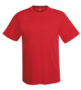 Hanes 4820 Adult Cool DRI Performance Tee Deep Red - Extra Large
