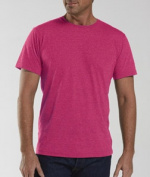 LAT 6905 Adult Vintage Fine Jersey T-Shirt - Vintage Hot Pink Small